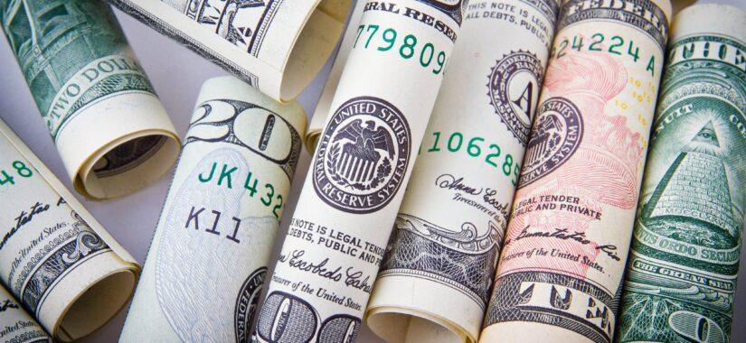 Rullede pengesedler