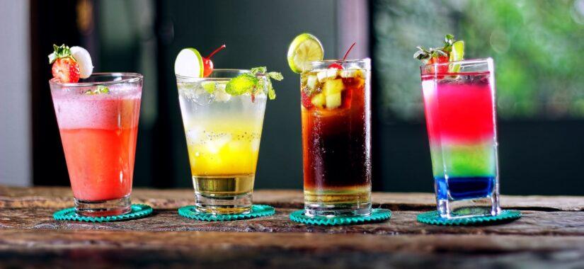 Lær at lave cocktails i mange farver