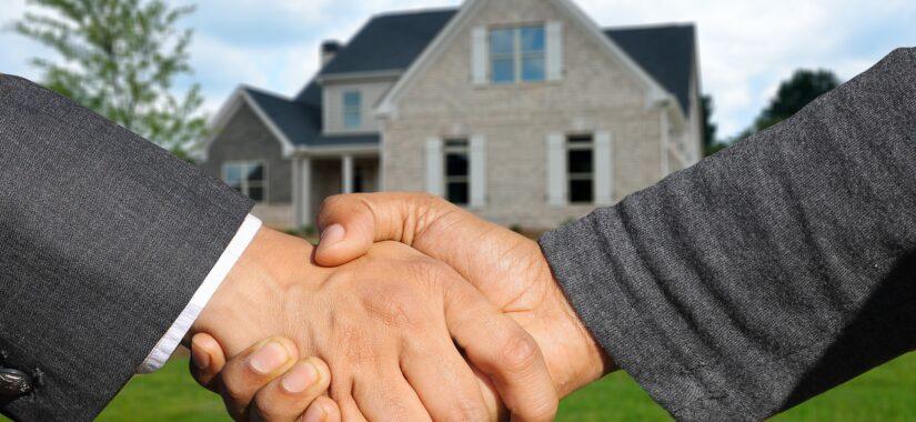 Håndtryk ved hus